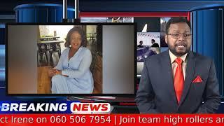 Irene Nkosi's Breaking News Anchor